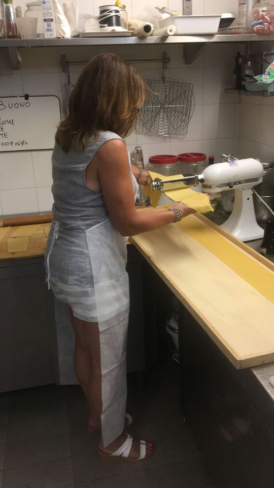 Handmade pasta at home in the cooking class in Orvieto - Locanda Rosati